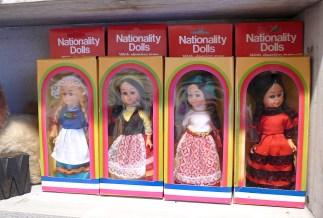 Nationality dolls