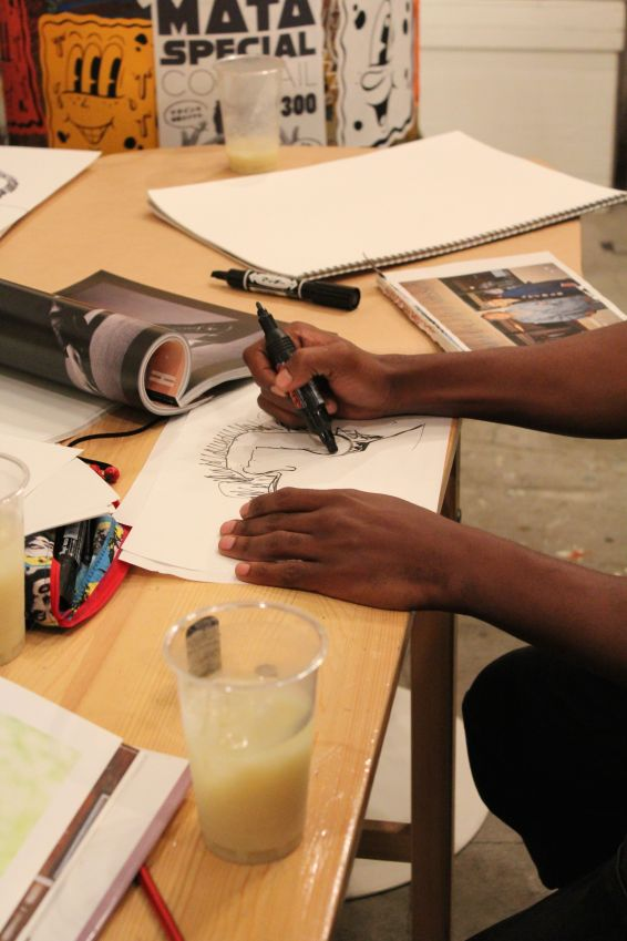 "Martijn's ""Masterclass Of Drawing"""