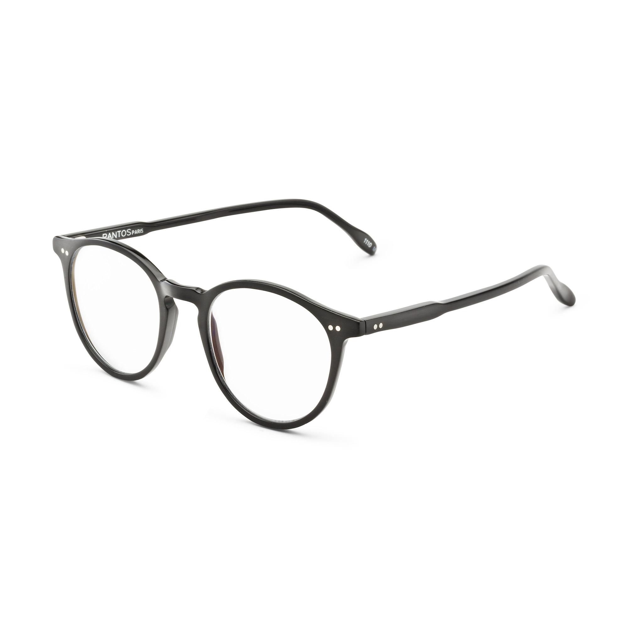lunettes vue pantos paris 1110M Black Mat Brushed
