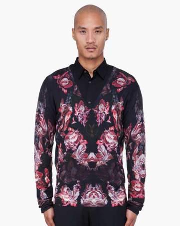 Alexnader-Mcqueen-Floral-print-shirts-for-men-2013