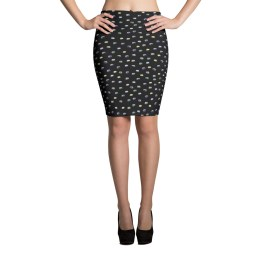 VW Bus Pencil Skirt