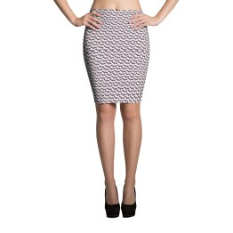 Bat Pencil Skirt