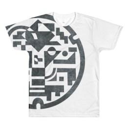 Manhole Cover Print | Crewneck t-shirt