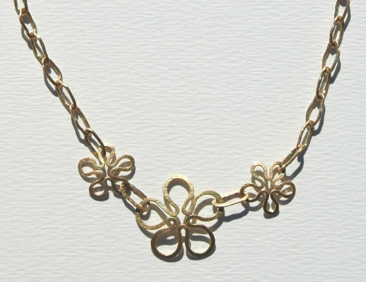 flower retro chain re-F