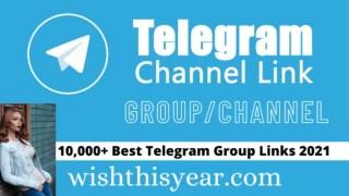 10,000+ Best Telegram Group Links 2021