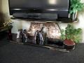 Concrete TV Stand