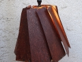 Rusty Lamp Shade