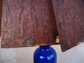Rusty Lamp Shade Detail