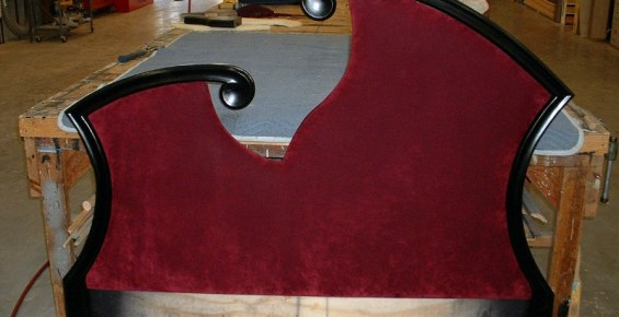 Modern Boudoir Headboard