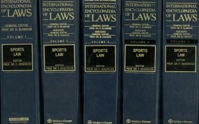 International Encyclopaedia of Sports Law – Kluwer Law International