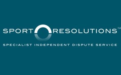 Sport Resolutions Arbitrators' Opening