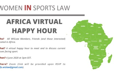 Africa Virtual Happy Hour, 4 June 2020