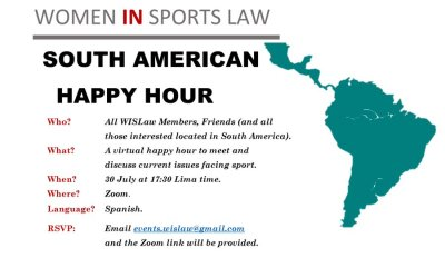 South American Virtual Happy Hour, 30 July 2020