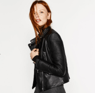 ZARA, Leather Jacket, £49.99