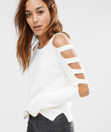 ASOS, Cut Out Jumper, £32 £