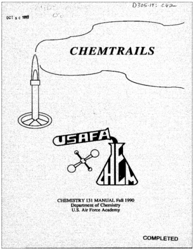 """U.S. Air Force """"Chemtrail"""" Publication and Chemistry"""
