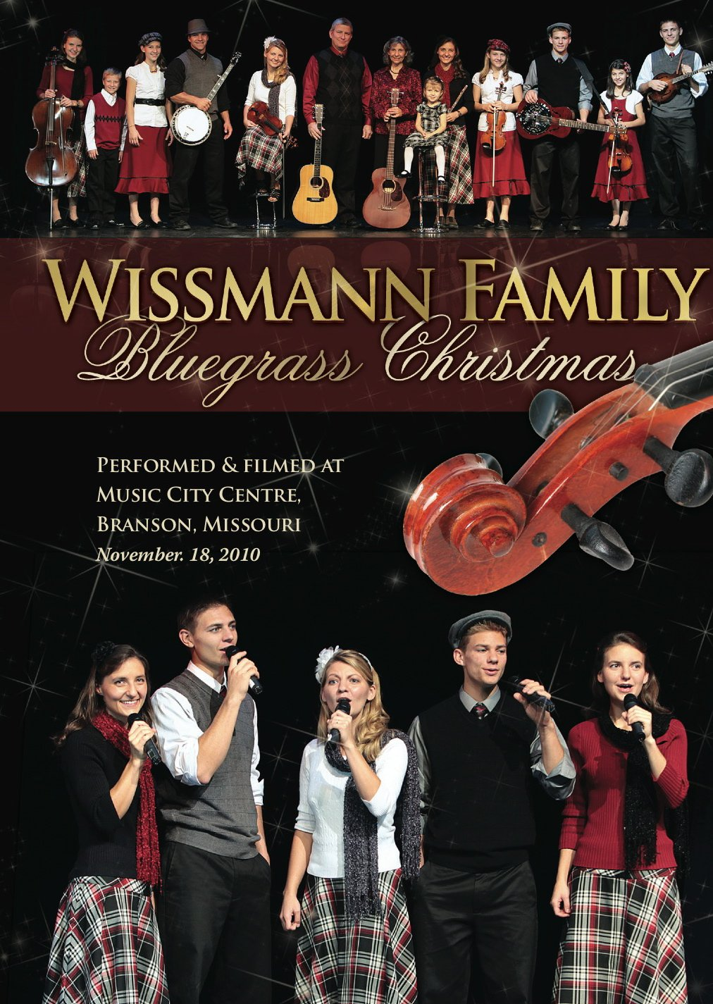 Branson Christmas DVD | The Wissmann Family