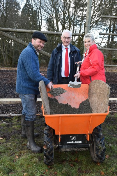 Muck Truck Feb 2016 Councillors with Jonny Sutherland
