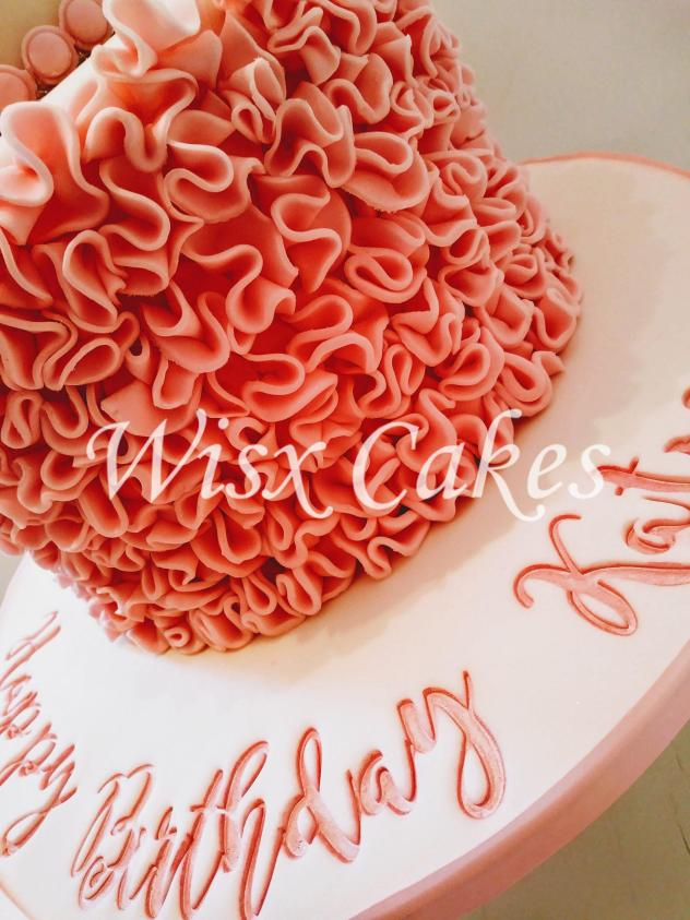 Admirable Birthday Cakes Wisx Cakes Funny Birthday Cards Online Aeocydamsfinfo