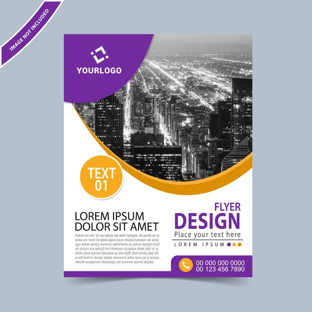 Business Flyer Design Template Free Download  Wisxicom