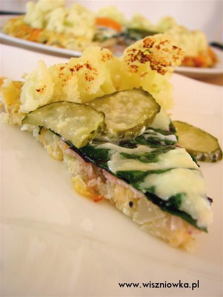 Pyszna i zdrowa pizza z kalafiora.