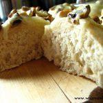 Domowe bułeczki z pieczarkami i mozzarellą