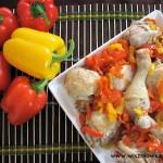 Kurczak z papryką w stylu romańskim