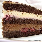 """Tort w stylu szwarcwaldzkim –  """"Czarny las"""""""
