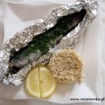 Pstrąg pieczony w folii. Jak często jecie rybę?