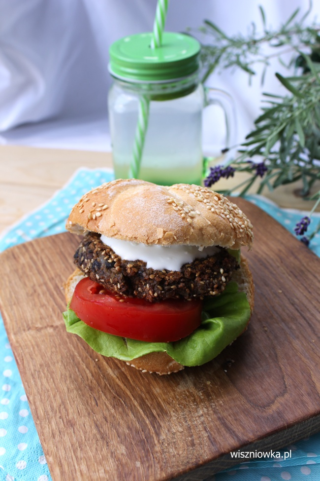 fit burgery z fasoli i soczewicy