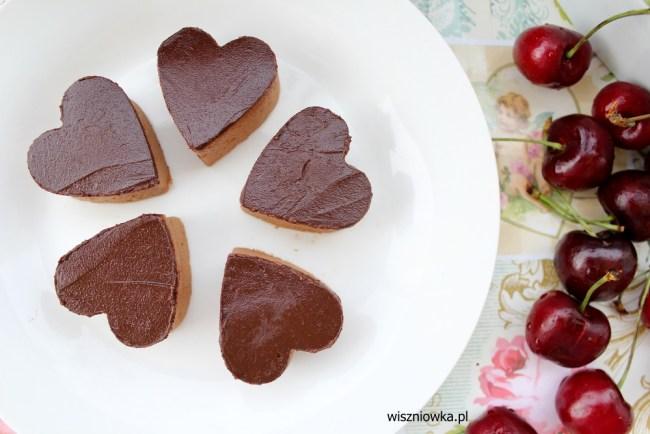 czekoladowe ptasie mleczko, delikatne i pyszne.