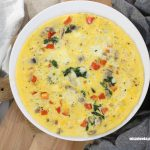 Omlet z warzywami, czyli królewskie śniadanie z resztek