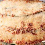 Lazania wegetariańska z cukinii i szpinaku