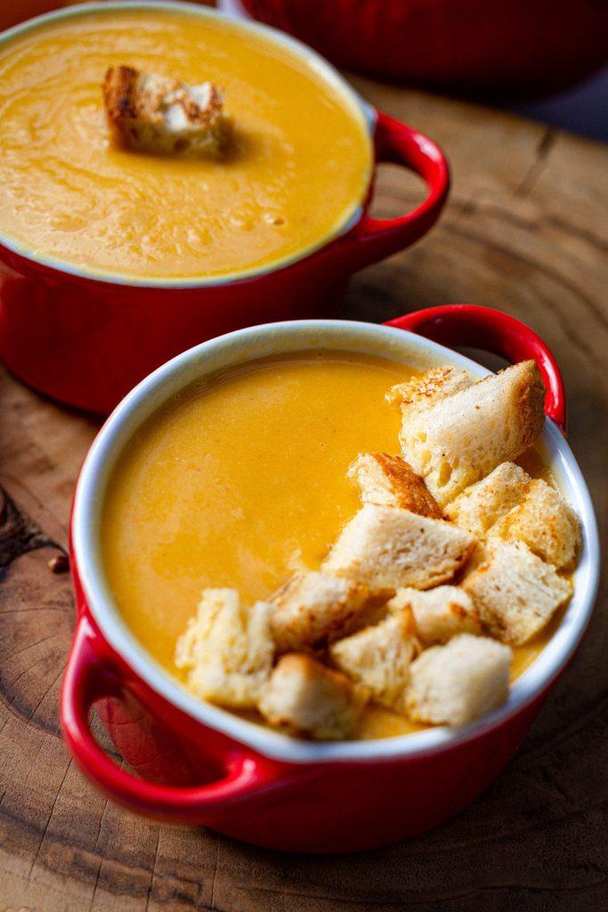 Zupa krem z dyni dla dzieci
