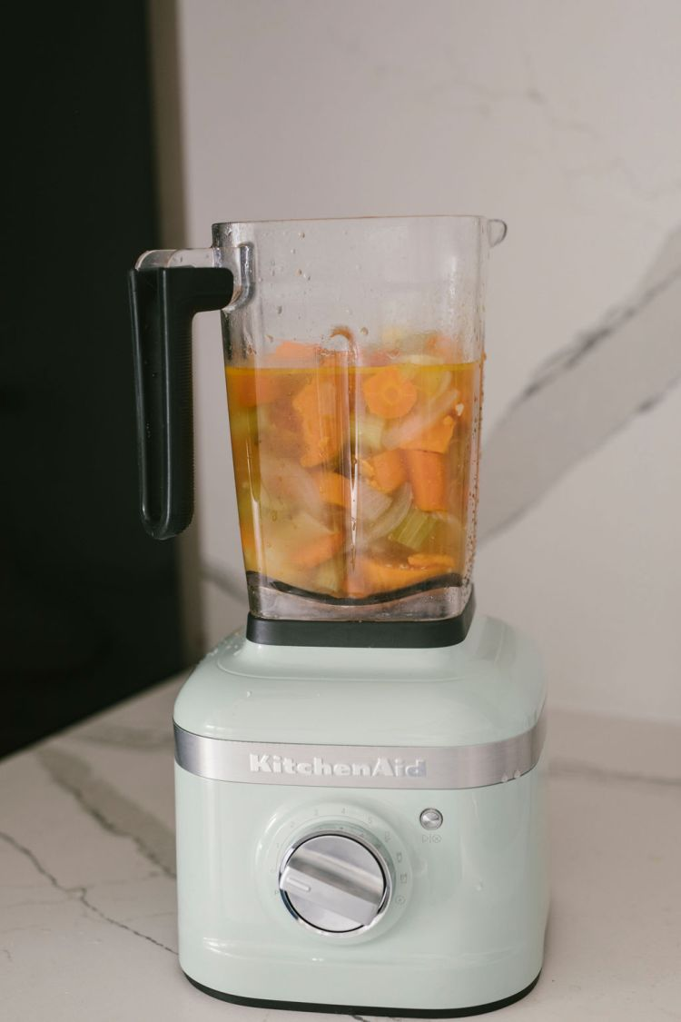 Easy Creamy Sweet Potato Soup Recipe