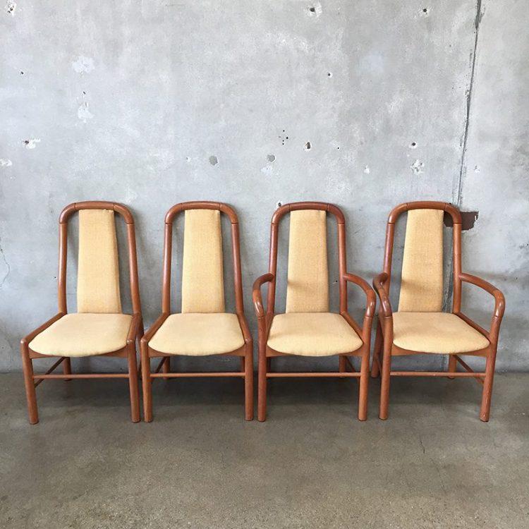 Teak Dining Chair Set Wit & Delight