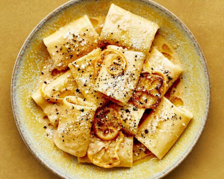 Brown Butter, Lemon, and Parmesan Pasta