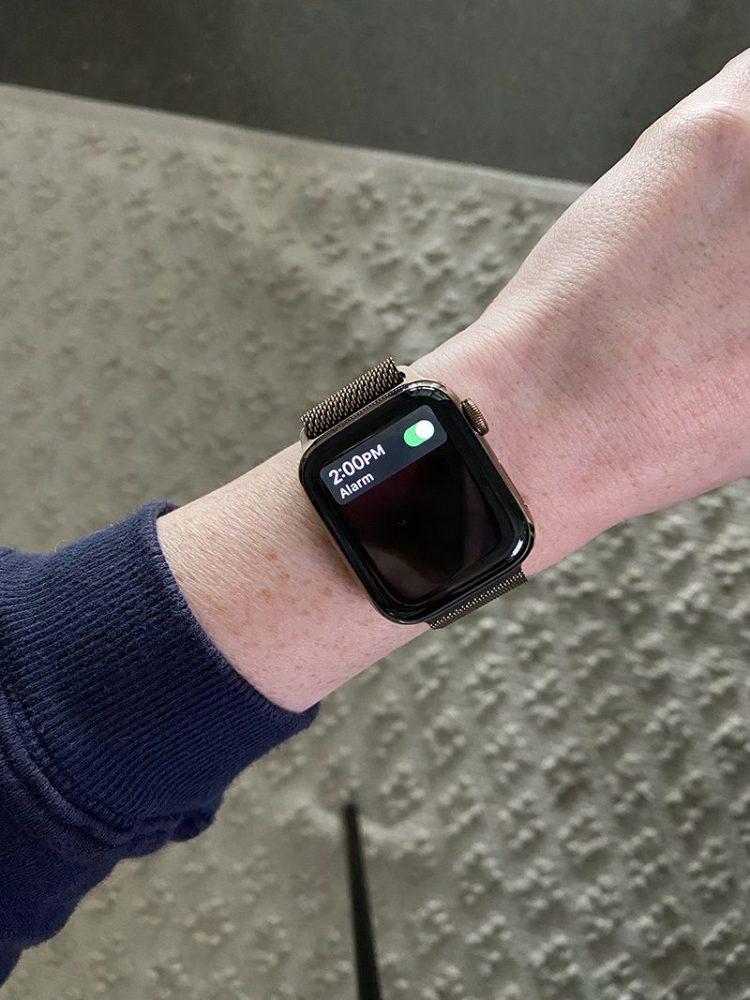 Apple Watch Meeting Reminders