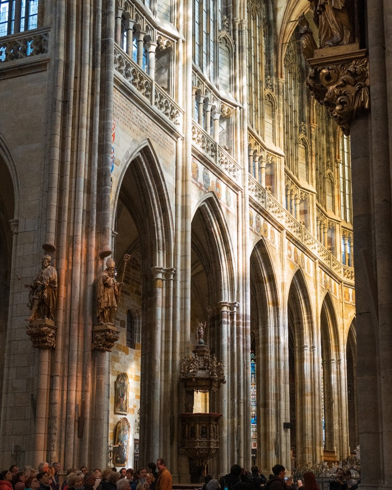 Inside St. Vitus Cathedral 2 - witandfolly.co