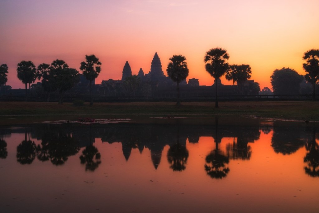 Angkor Wat at Sunrise - witandfolly.co