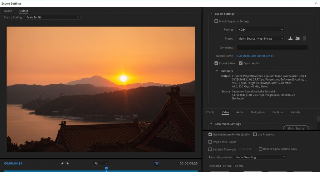 Export Dialog Box Adobe Premiere Pro - witandfolly.co