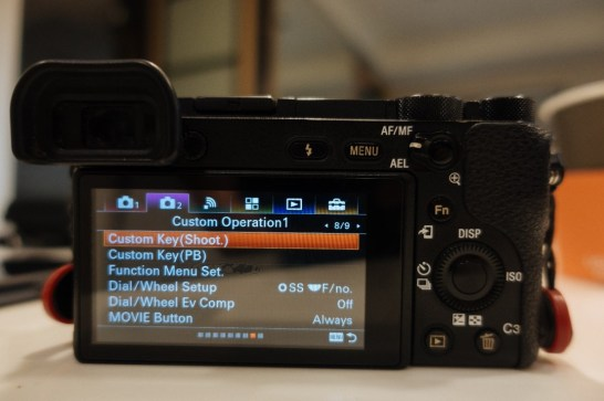 Menu camera 2 sub menu 8 of 9 tab on Sony a6500 - sony a6500 audio settings - witandfolly.co