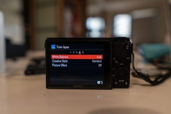 Sony PlayMemories Settings Menu Tab 4