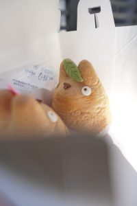 picture of totoro puff at totoro cafe in tokyo