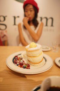 jiggly pancake in japan