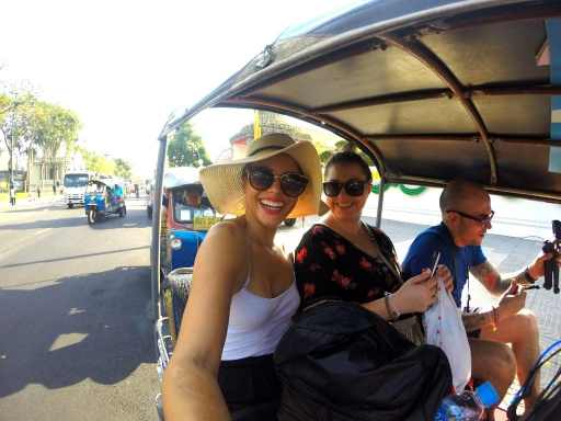 Tuk Tuk: A crazy rickshaw ride shot with a GoPro Hero 3. Tuk tuks are fun but crazy.