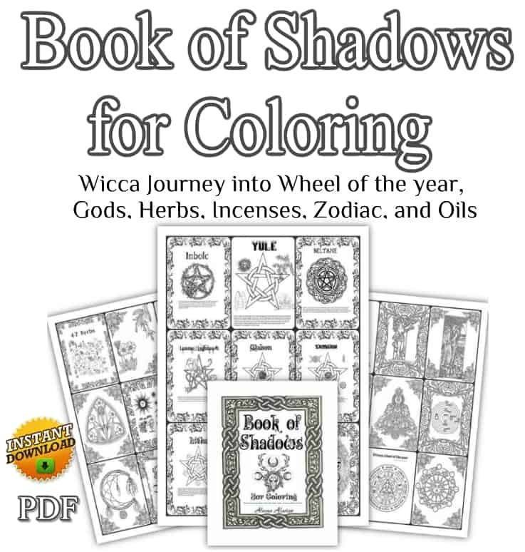 Book of Shadows coloring book 214 Printable coloring pages