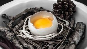 Spiritual egg cleansing and egg reading