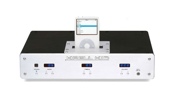 A Krell iPod dock? It's real. Good luck buying one for your Android phone.
