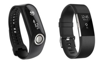 A Tale Of Two Trainers – Fitbit Charge 2 and TomTom Touch Fitness Tracker Review
